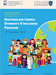 Masterclass Series: Diversity and Inclusion Program
